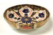 Royal Crown Derby Old Imari (Pattern #1128) Shallow Biscuit Bowl