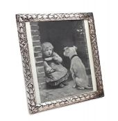 Significant Arts & Crafts Silver Plate Photo Frame, Circa 1900