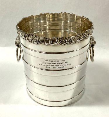 Vintage Birks-Ellis Silver Plate Champagne Cooler