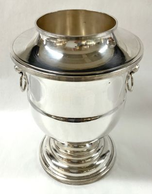 Vintage English Silver Plate Champagne Cooler