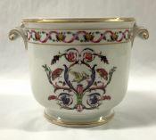 "Vintage Richard Ginori Porcelain Cachepot, ""Rapallo"" Pattern"