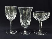 """Waterford """"Kildare"""" Crystal, Discontinued, Hand Cut In Ireland"""