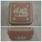 Wedgwood Jasperware Square Pink Box