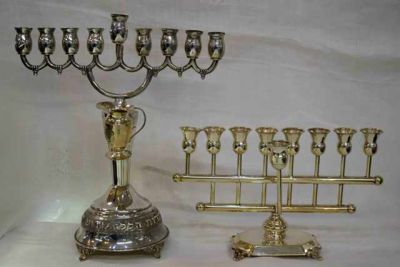 1-69702-June/a fiarmont /xmas/Antique-Vintage-Sterling-Silver-Menorah2