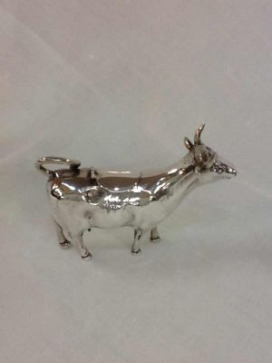 Dutch Silver Cow Creamer