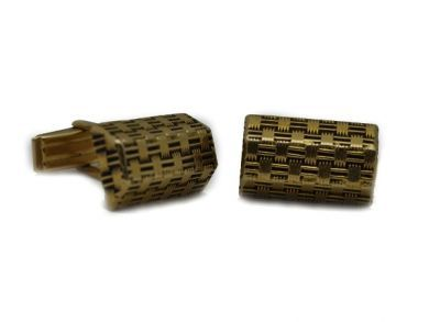 14kt Gold Cufflinks  CfL001