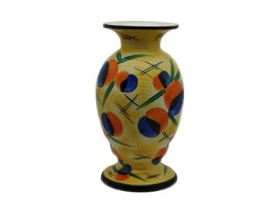 1920s Yellow Czech Vase  AP008