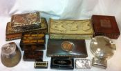 Selection of Vintage Boxes