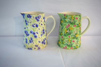1 April Updates/mother day blog blast 3/Lord Nelson Pottery Chintz Jugs