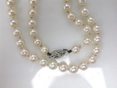 1 Pearls/Cultured Pearl Necklace Cynthia Findlay Antiques CFA110422