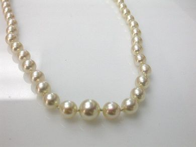 1 Pearls/Graduated Pearl Necklace Cynthia Findlay Antiques CFA110858