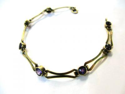 2014 AGL uploaded Oct-Dec/Amethyst Bracelet AGL45334 75167