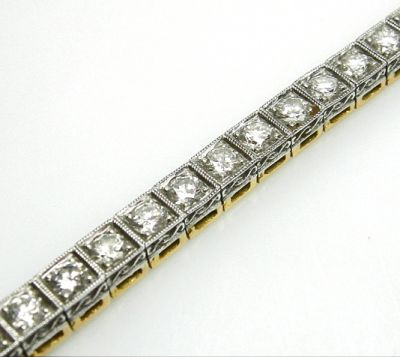 2014 AGL uploaded Oct-Dec/Diamond Tennis Bracelet AGL48217 024 78491