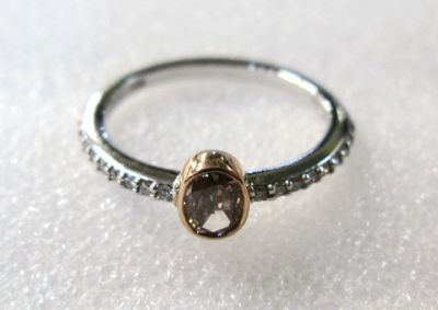 2014 AGL uploaded Oct-Dec/Fancy Brown Diamond Ring AGL47701 78380
