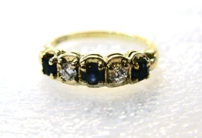 2014 AGL uploaded Oct-Dec/Sapphire and Diamond Ring AGL48006 78453