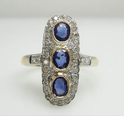 2014 AGL uploaded Oct-Dec/Sapphire and Diamond Ring AGL 48555 042 78568