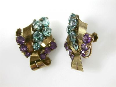 2014 CFA uploaded Oct-Dec/Amethyst and Blue Zircon Earrings CFA1309282 73341