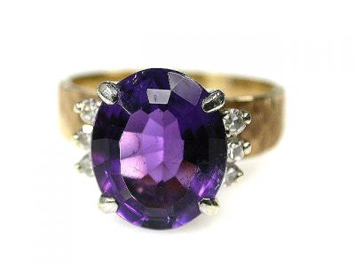 2014 CFA uploaded Oct-Dec/Amethyst and Diamond Ring CFA1209281 68975