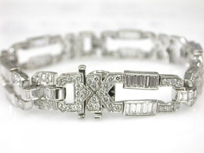 2014 CFA uploaded Oct-Dec/Art Deco Diamond Bracelet CFA131190 73798