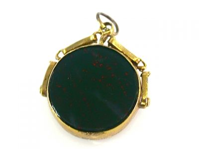 2014 CFA uploaded Oct-Dec/Bloodstone Carnelian Fob Pendant CFA1308205 73204