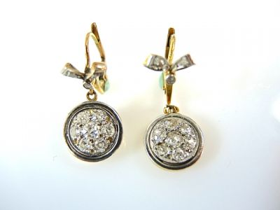 2014 CFA uploaded Oct-Dec/Diamond Drop Earrings CFA1404126 75507