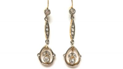 2014 CFA uploaded Oct-Dec/Diamond Drop Earrings CFA140721 78233
