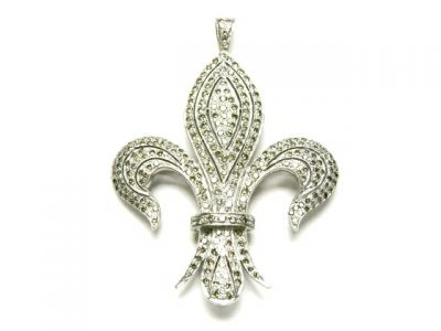 2014 CFA uploaded Oct-Dec/Fleur De Lis Pendant CFA140808 78462 b