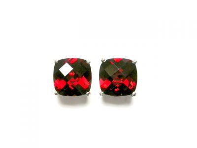 2014 CFA uploaded Oct-Dec/Garnet earrings CFA140480 75548
