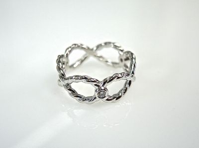 2014 CFA uploaded Oct-Dec/Infinity Rope Diamond Ring CFA1407176 78335