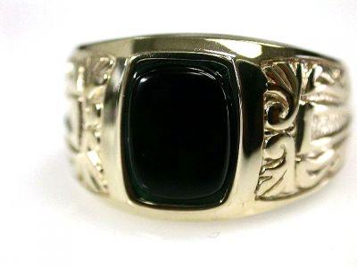 2014 CFA uploaded Oct-Dec/Man s Onyx Ring Cynthia Findlay Antiques CFA1210275 69261