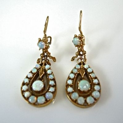 2014 CFA uploaded Oct-Dec/Opal Drop Earrings CFA141027 78705
