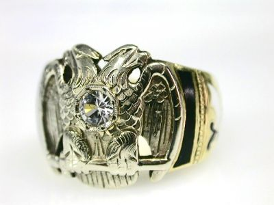 Shriner 32 Degree Ring