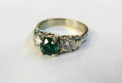 2014 CFA uploaded Oct-Dec/Vintage-Emerald-and-Diamond-Ring-CFA1401168-74548