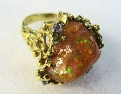 2014 other appraisers/Fire Opal Ring GA10041 65419