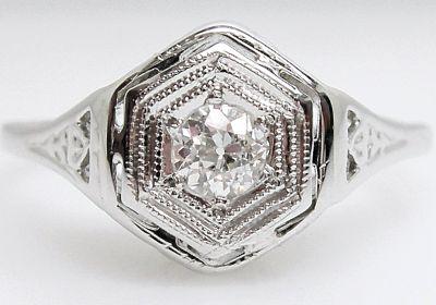 2015 AGL/Art Deco Diamond Ring AGL54513 79474