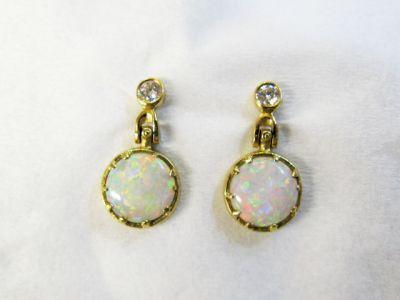 2015 AGL/Audrius Krulis Opal and Diamond Earrings AGL50842 78860