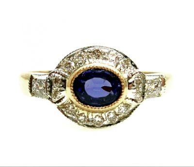 2015 AGL/Sapphire and Diamond Ring AGL48566 028 78579