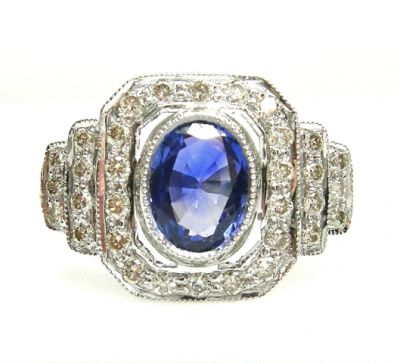 2015 AGL/Sapphire and Diamond Ring AGL48572 023 78585