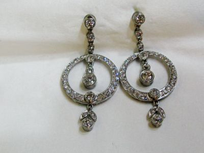 2015 AGL/Vintage Diamond Earrings AGL44192 75155