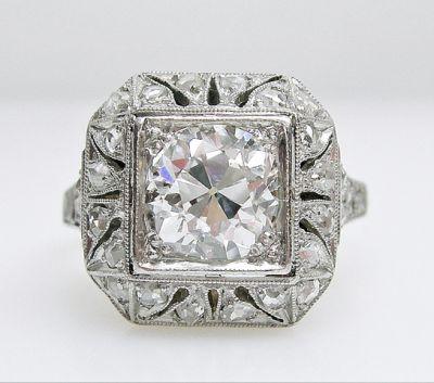 2015 AGL/Vintage Diamond Ring AGL54510 79471
