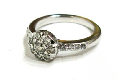 2015 AGL/Vintage Inspired Diamond Ring AGL54524 79485