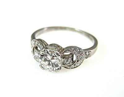 2015 ML Facets/2 Qtr/Art Deco Diamond Ring CFA1408129 78524