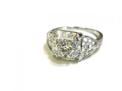 2015 ML Facets/2 Qtr/Art Deco Diamond Ring CFA1505309 79461