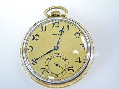 2015 ML Facets/2 Qtr/Longines Pocket Watch CFA1405145 77814