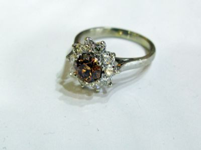 2015 ML Facets/2 Qtr/Modern Brown Diamond Ring CFA1409129 78692