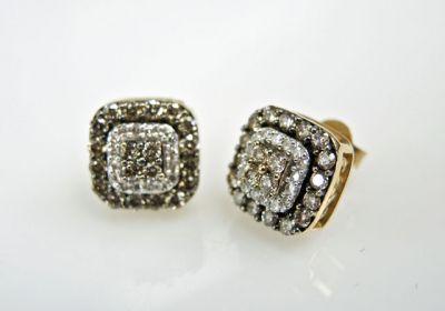 2015 ML Facets/2 Qtr/Modern Diamond Earrings CFA1505324 79515