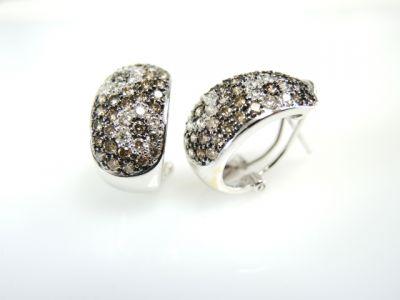 2015 ML Facets/2 Qtr/Modern Diamond Huggy Earrings CFA1311274 73977A