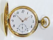 Pocket Watch, Hunter's Case