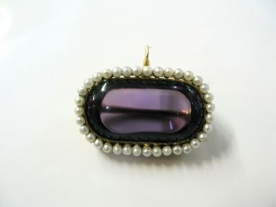 2015 ML Facets/2 Qtr/Victorian Amethyst Pendant Brooch CFA1104133 65332 a