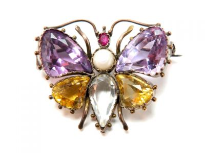 2015 ML Facets/2 Qtr/Victorian Butterfly Brooch CFA150429 79368